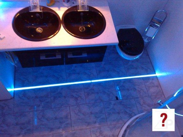 Stylische badezimmer fußboden beleuchtung stylische badezimmer