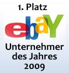 Logo - eBay Unternehmer des Jahres 2009