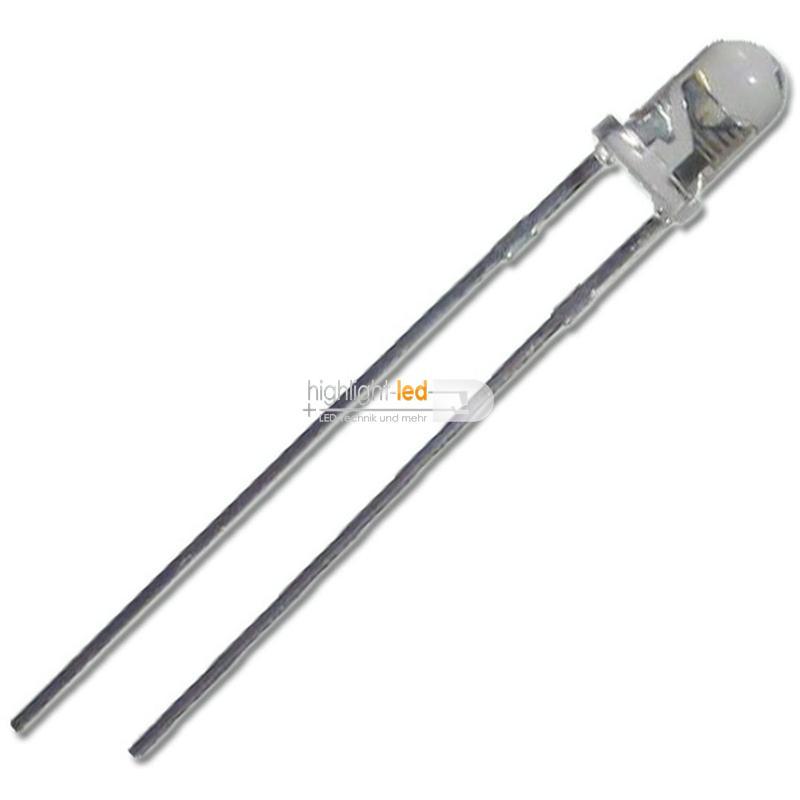LED-3mm-agua-clara-plateada-colores-amp-brillo-diodos-luminosos-LED-transparente-de-3-mm miniatura 11