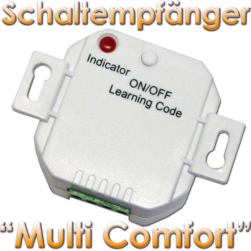 funk schaltempf nger multi comfort unterputz empf nger schalter ebay. Black Bedroom Furniture Sets. Home Design Ideas