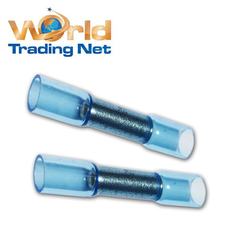 50-Stossverbinder-BLAU-fuer-1-5-2-5mm-Heisskleber-gefuellt