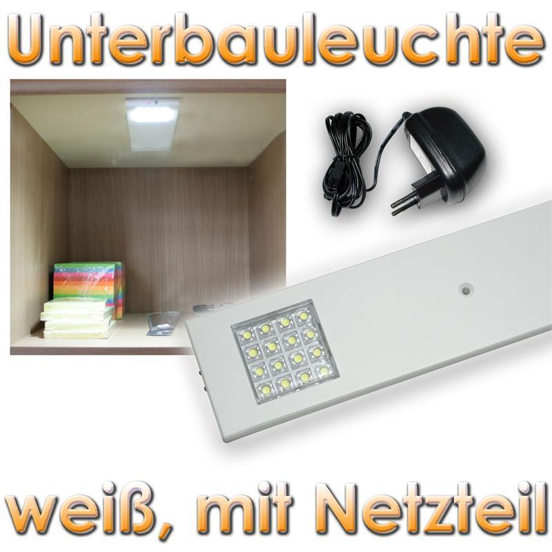 set led unterbauleuchte mit trafo einschaltautomatik im spot m belleuchte 230v ebay. Black Bedroom Furniture Sets. Home Design Ideas