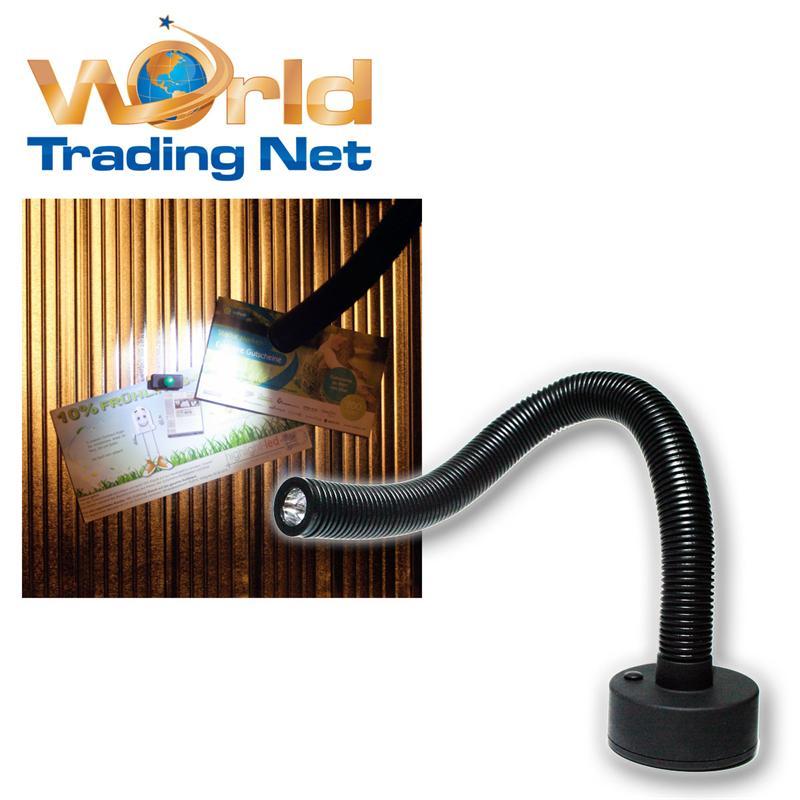 1w led arbeitslampe mit schwanenhals magnethalterun leseleuchte leselampe ebay. Black Bedroom Furniture Sets. Home Design Ideas