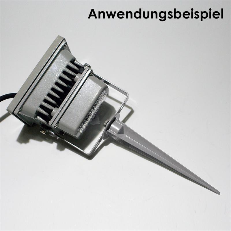 Erdspiess-fuer-LED-Fluter-Staender-Gartenstecker-fuer-Scheinwerfer-Strahler-Leuchte Indexbild 18
