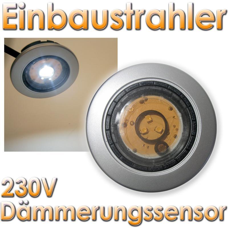 led einbaustrahler 230v gu10 einbau lampe einbauspot mr16 rund schwarz rahmen ebay. Black Bedroom Furniture Sets. Home Design Ideas