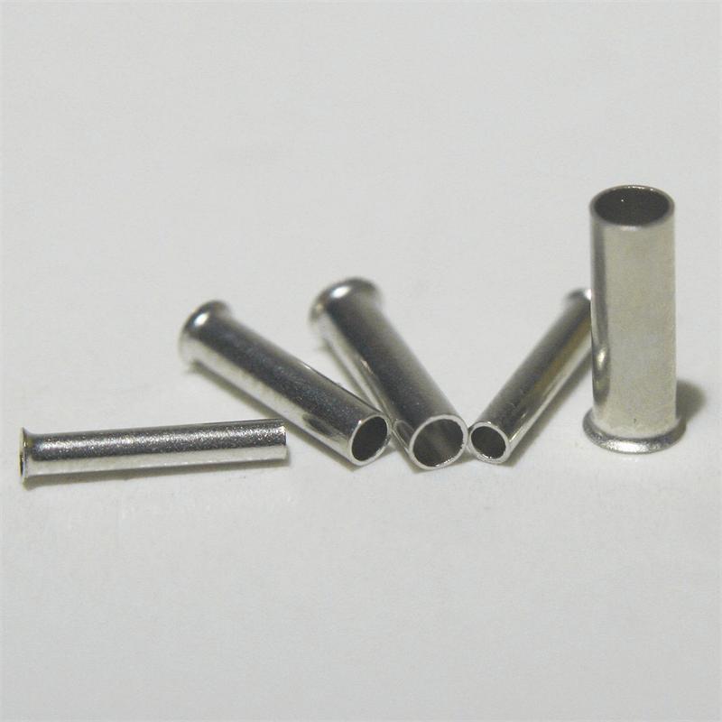 Aderendhülsen unisoliert 0,5-2,5 mm² in Streudose Litze Presshülsen Sortiment