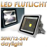 thumb_pic_a: 30W LED Fluter, 12-24V DC, IP65, daylight, 2400lm 20212