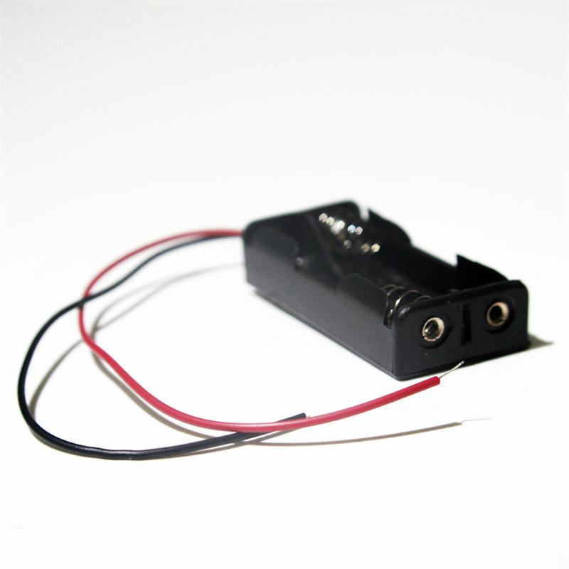 Batteriehalter-fuer-2x-Micro-AA-Batterie-Batteriefach-Battriehalter