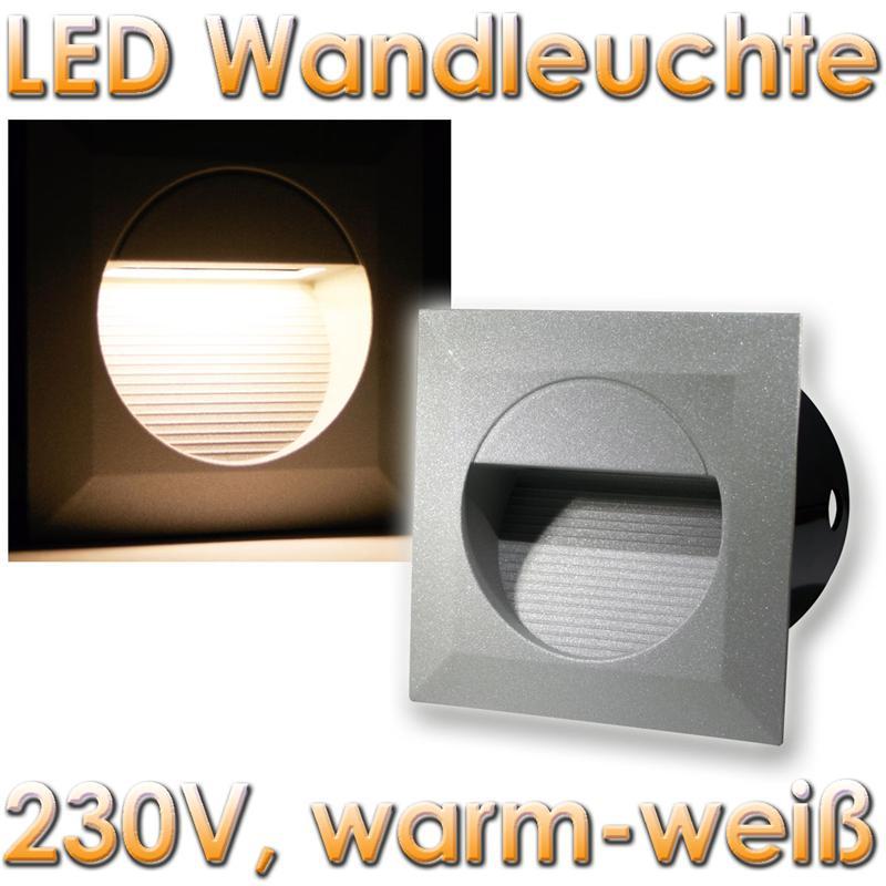 led lichtleiste au en 230v lichtleiste 30 led smd 51cm in. Black Bedroom Furniture Sets. Home Design Ideas