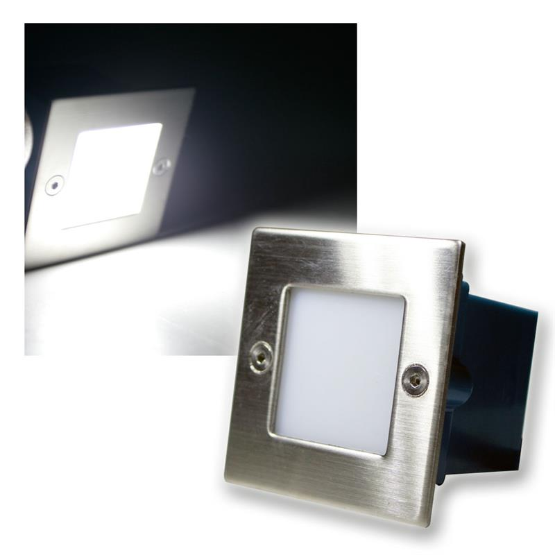 Led Wall Floor Recessed Light Stainless Steel Square