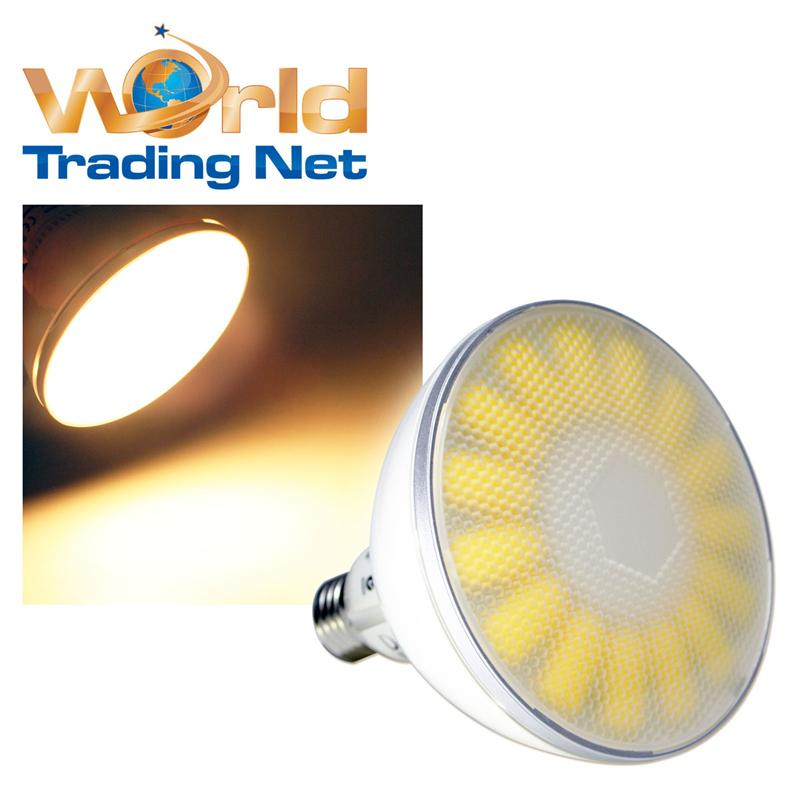 led leuchtmittel par38 warmwei 18w 1100lm 230v sockel e27 strahler highpower. Black Bedroom Furniture Sets. Home Design Ideas