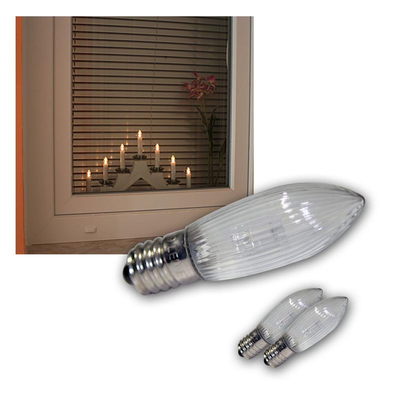 led lampe e10 ersatz gl hbrine gl hlampe f lichterbogen lichterkette schwibbogen ebay. Black Bedroom Furniture Sets. Home Design Ideas