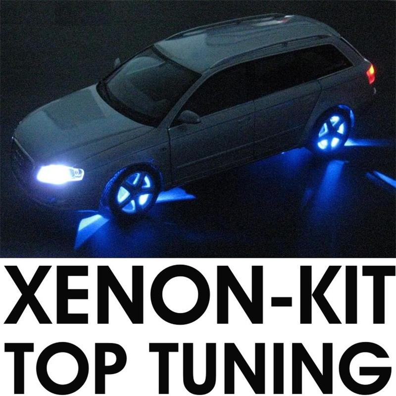 led modellauto beleuchtung 37 teilig xenon tuning kit ebay. Black Bedroom Furniture Sets. Home Design Ideas