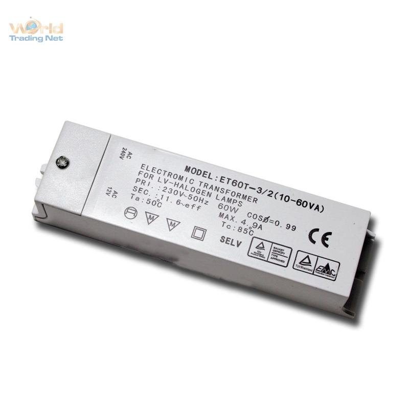 Elektronischer-Halogentrafo-12V-10-60VA-Halogen-Trafo-12-Volt-Vorschaltgeraet