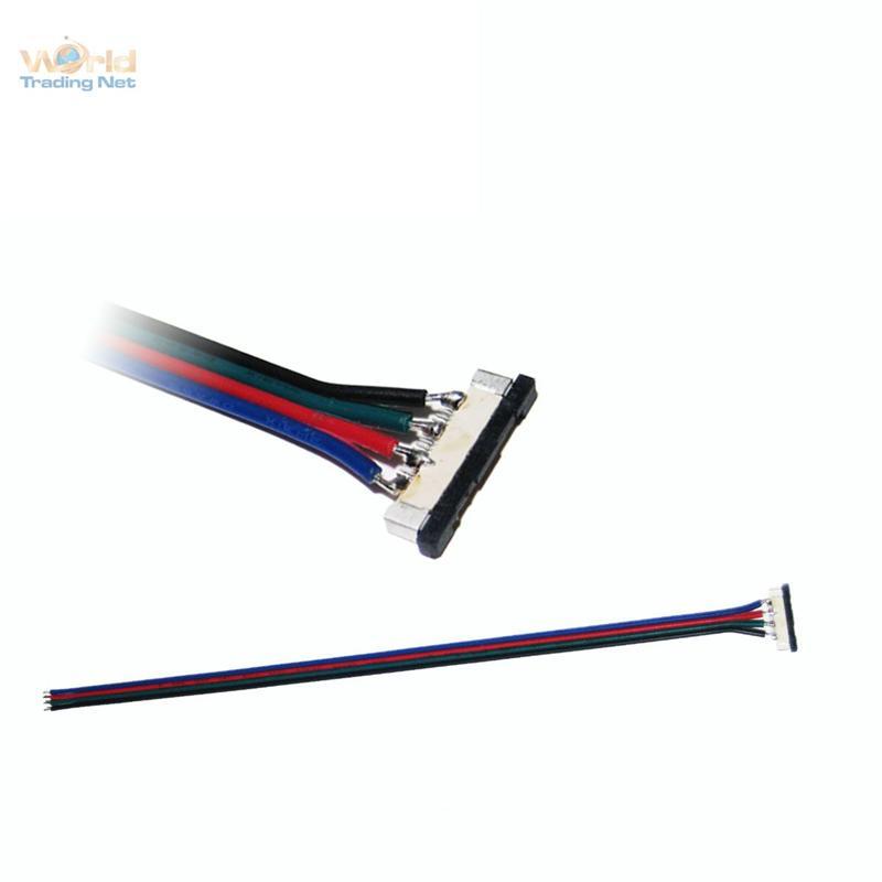 Schnellanschlusskabel-fuer-4-poligen-flex-SMD-LED-Strip-Kabel-zum-Anschluss