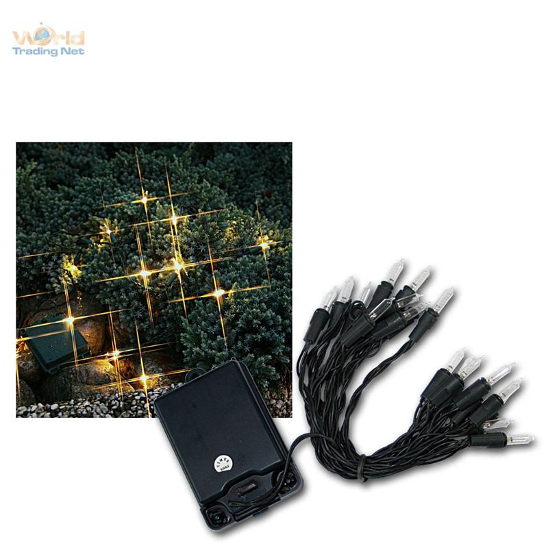 outdoor batterie lichterkette 20 leds warmwei batteriebetrieben innen au en ebay. Black Bedroom Furniture Sets. Home Design Ideas