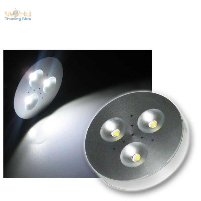 LED-puck-light-Aluminium-Spot-3x1W-pur-weiss-12V-DC