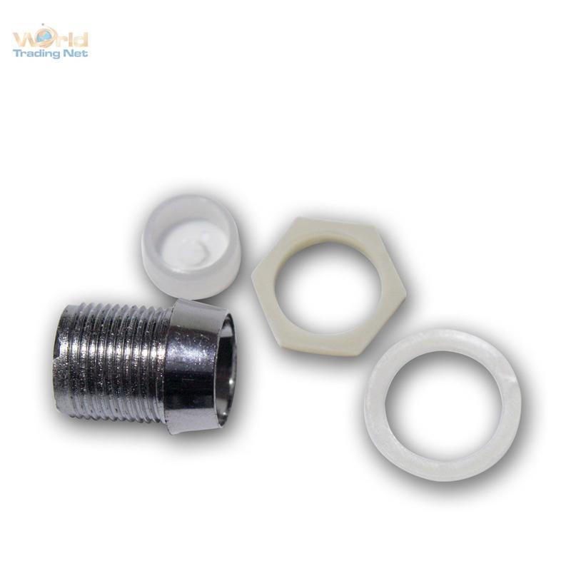 20-CHROM-FASSUNG-fuer-alle-10mm-LEDs-LED-Halter-Schraube