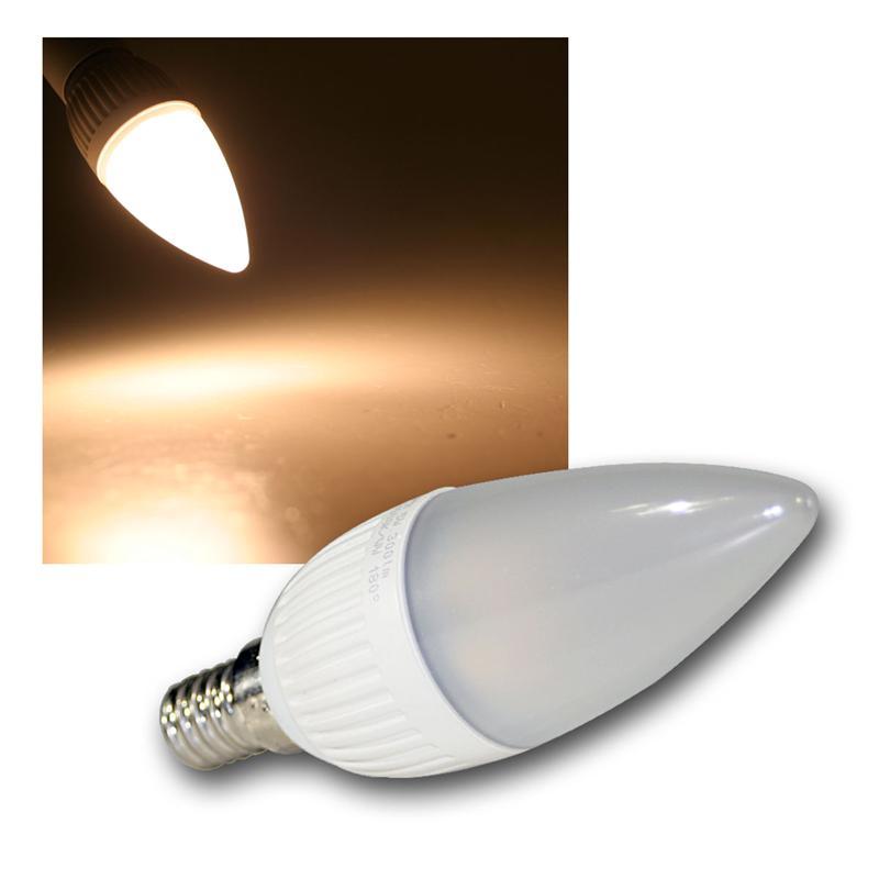 E14 LED Kerzenlampen Leuchtmittel versch Typen Kerze Birne Glühbirne 230V Bulb