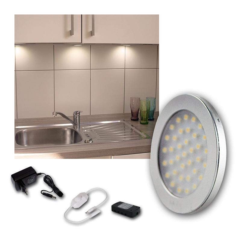 led aufbauleuchten sets unterbauleuchte k chenbeleuchtung. Black Bedroom Furniture Sets. Home Design Ideas