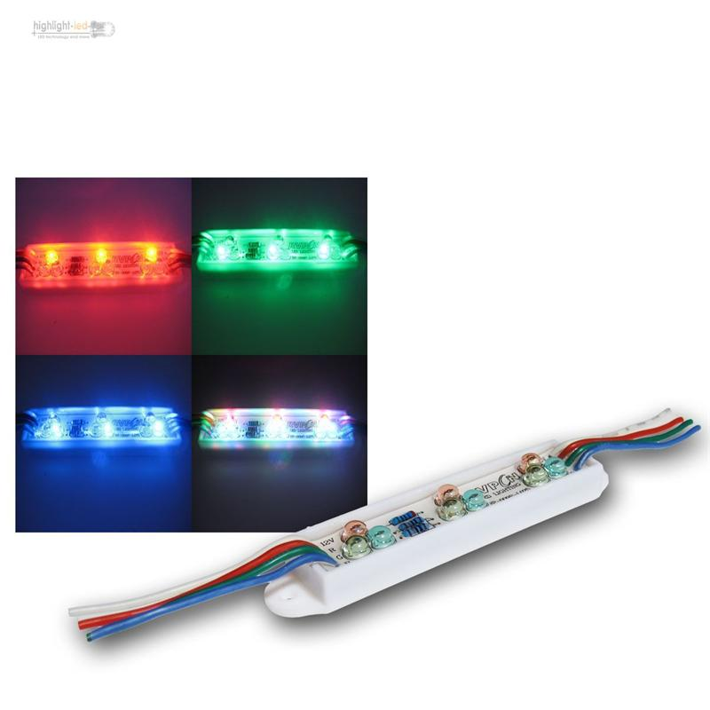 rgb led leiste ip65 12v leiste multicolor strip dmx led ebay. Black Bedroom Furniture Sets. Home Design Ideas