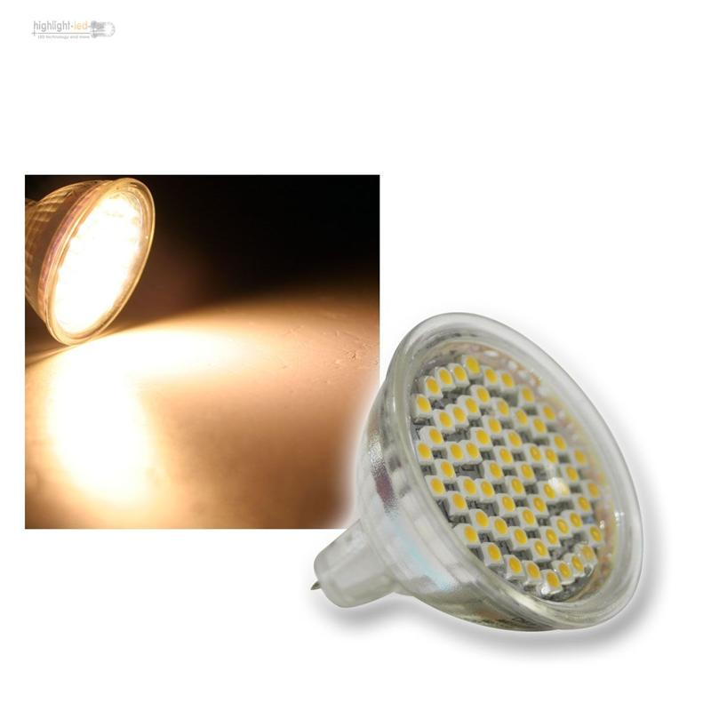 leuchtmittel led strahler 12v 230v 3w 220lm 60x smd spot birne reflektor lampe ebay. Black Bedroom Furniture Sets. Home Design Ideas