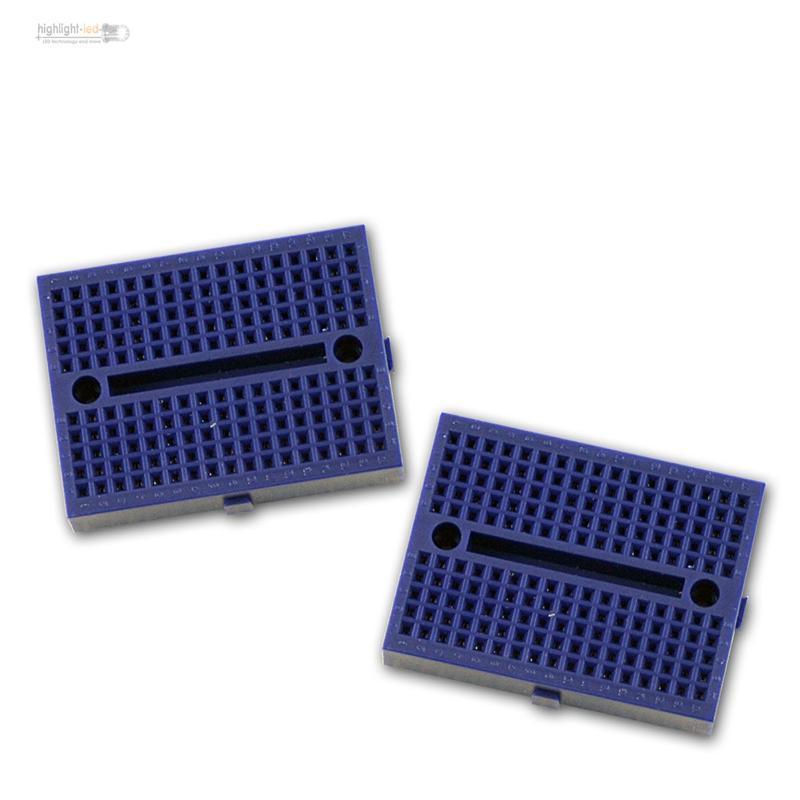 2er-Set-Laborsteckboard-170-Kontakte-Experimentier-Platine-Labor-Steckboard