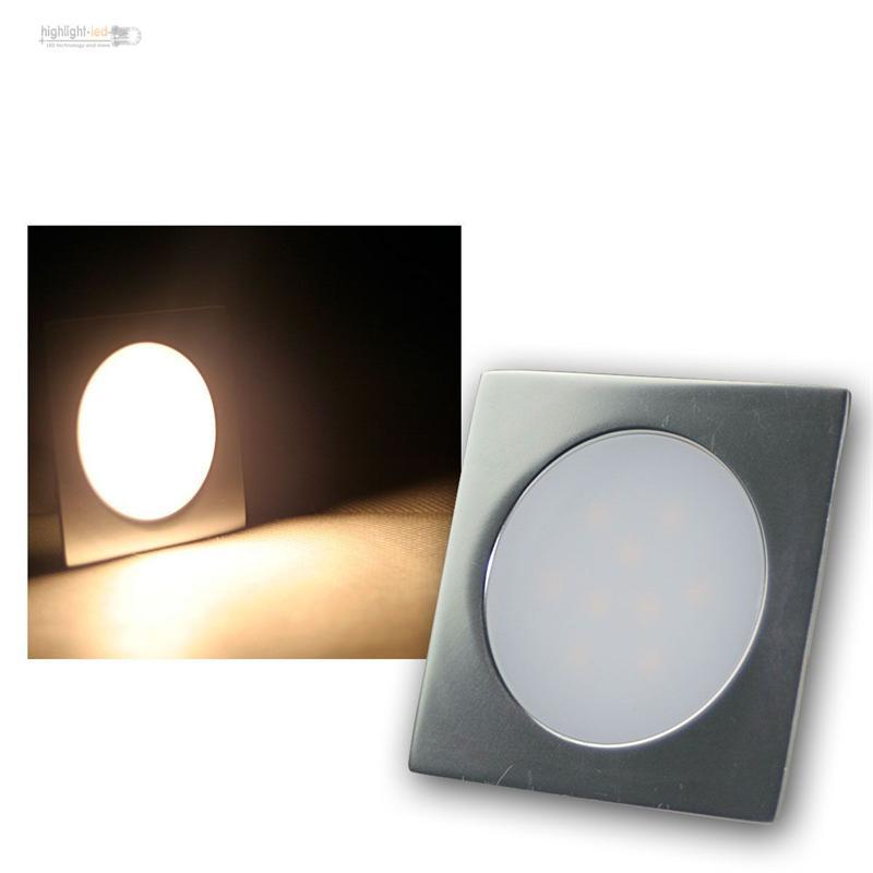 SLIM LED Einbau-Leuchte Alu matt 12V IP67 trittfest, Boden-Strahler ...
