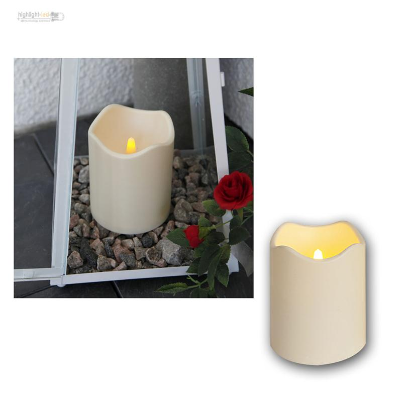 led kerze f r au en mit timer flackernde elektrische kerzen flackernd candle ebay. Black Bedroom Furniture Sets. Home Design Ideas