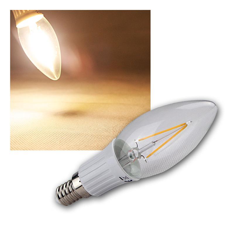 LED-Leuchtmittel-Filament-warmweiss-Gluehbirne-Gluehlampe-Birne-E-27-14-230V-Birne Indexbild 32