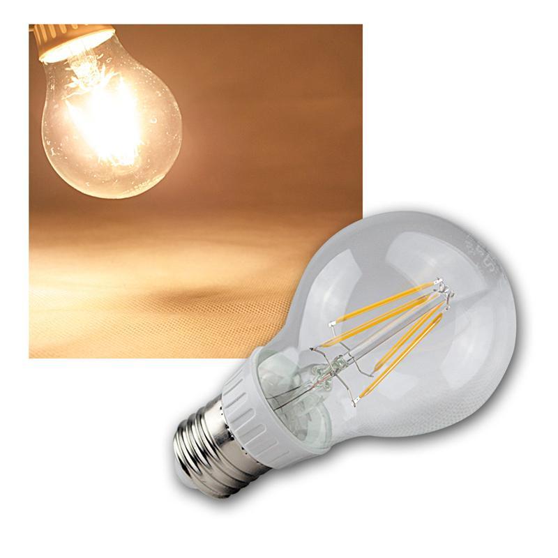 LED-Leuchtmittel-Filament-warmweiss-Gluehbirne-Gluehlampe-Birne-E-27-14-230V-Birne Indexbild 38