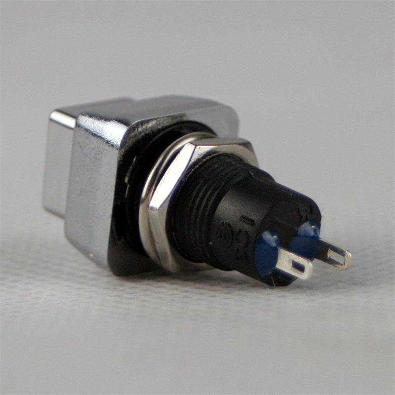 Druck Schalter Druckknopf Drücker Einbauschalter Tastschalter Druckschalter