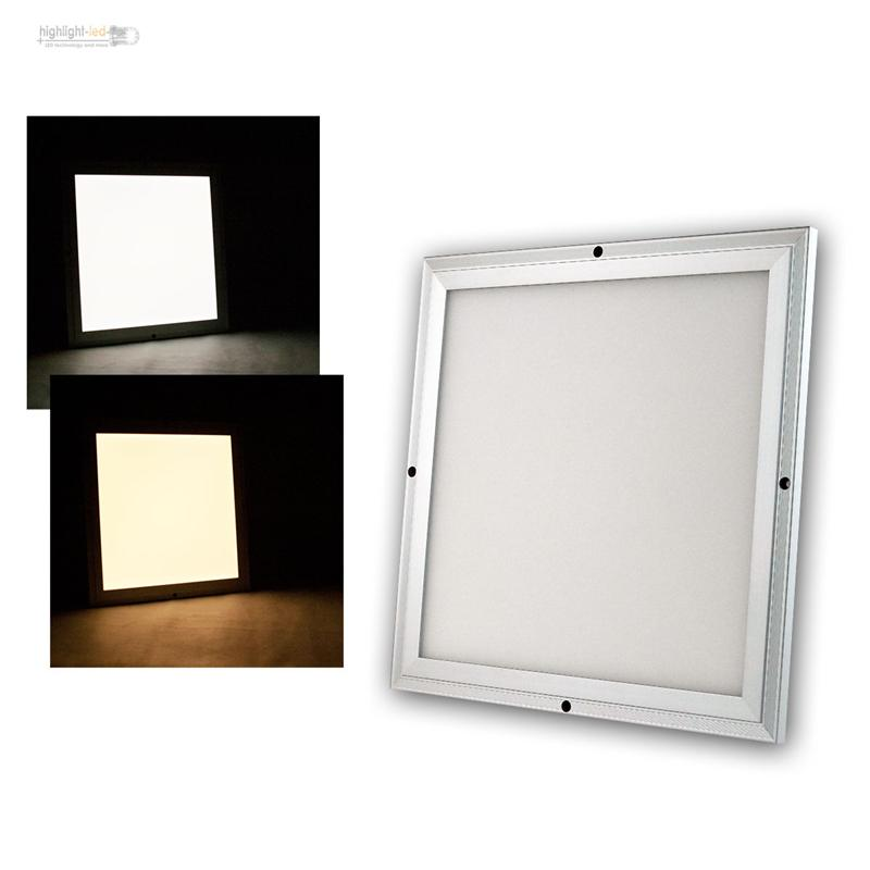 led panel cc serie umschaltbar zwischen kaltwei und warmwei per fernbedienung ebay. Black Bedroom Furniture Sets. Home Design Ideas