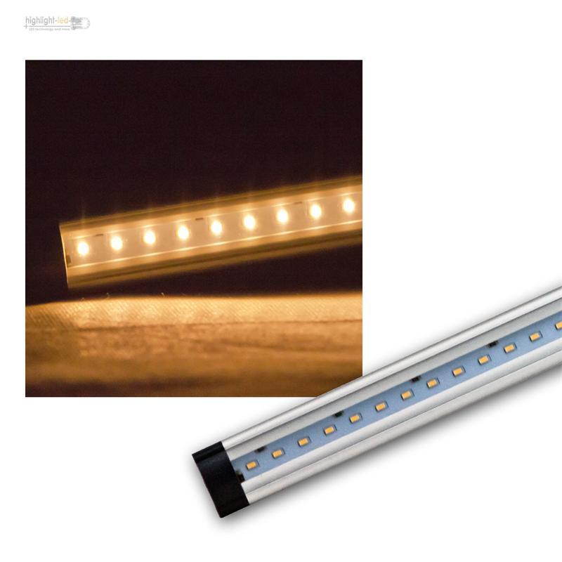 aluminium smd led lichtleiste ct fl sehr flach. Black Bedroom Furniture Sets. Home Design Ideas