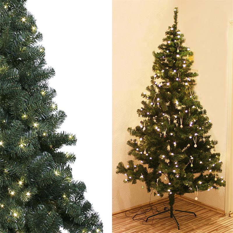 k nstlicher weihnachtsbaum mit beleuchtung aussen my blog. Black Bedroom Furniture Sets. Home Design Ideas