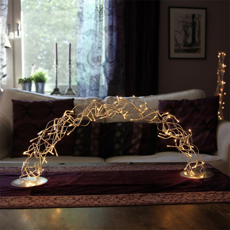 christmas festive scene wooden window candle arch bridge. Black Bedroom Furniture Sets. Home Design Ideas