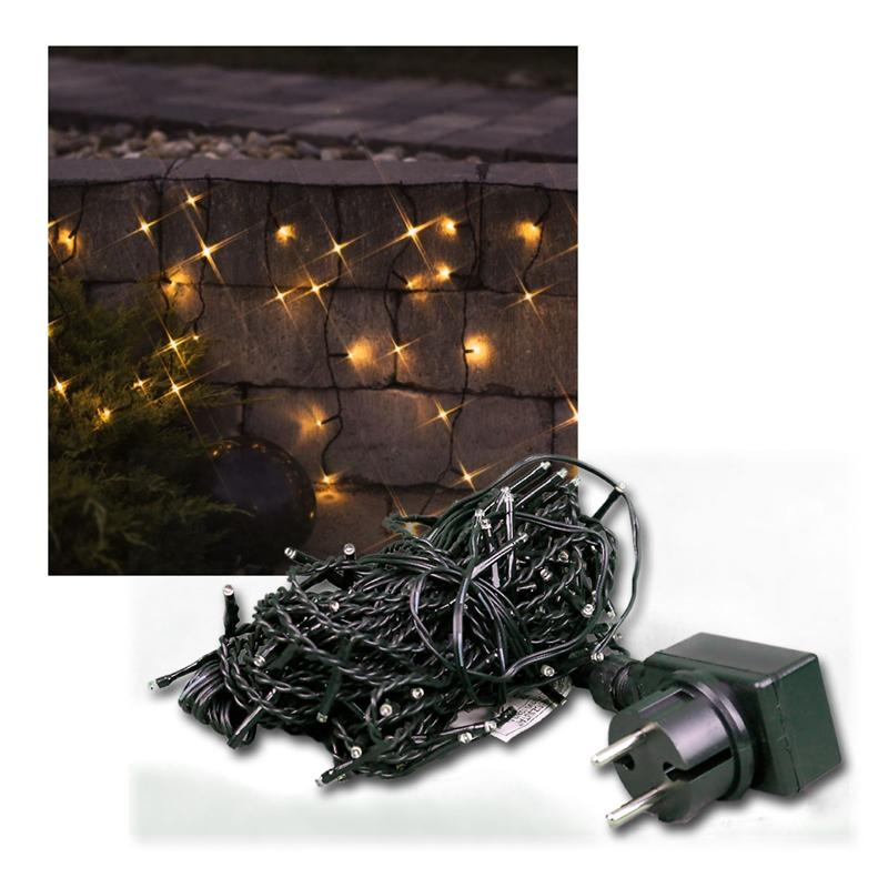 led eisregen lichterkette eisregenkette lichtervorhang. Black Bedroom Furniture Sets. Home Design Ideas