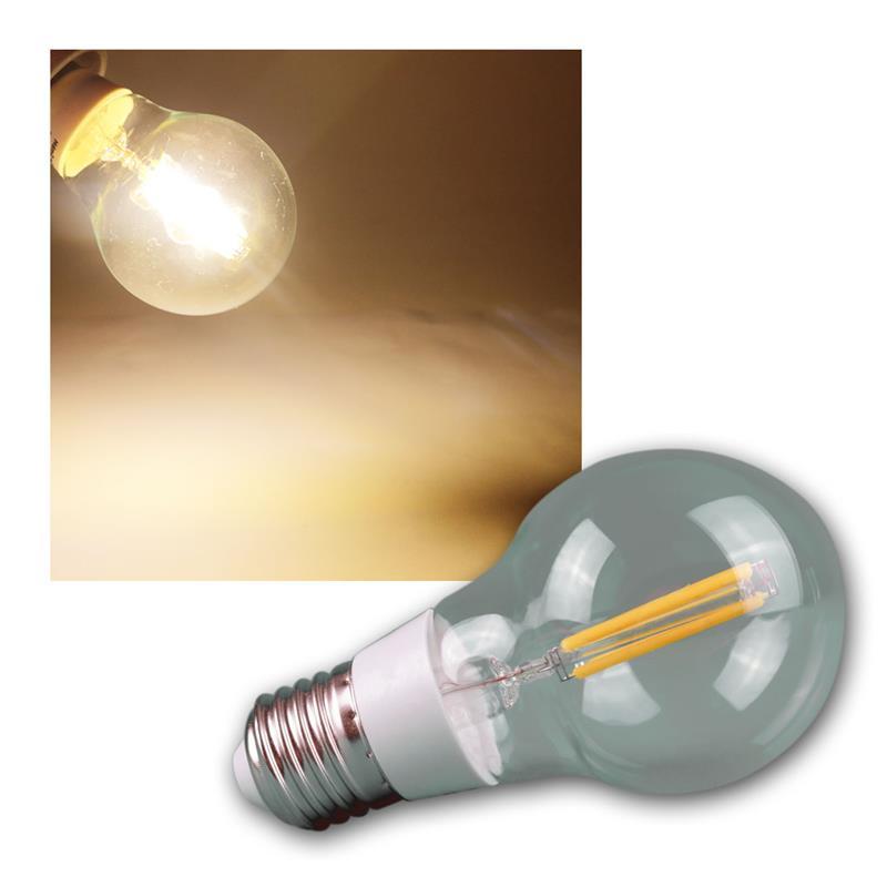 LED-Leuchtmittel-Filament-warmweiss-Gluehbirne-Gluehlampe-Birne-E-27-14-230V-Birne Indexbild 8