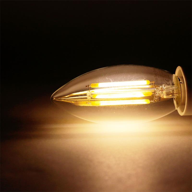 LED-Leuchtmittel-Filament-warmweiss-Gluehbirne-Gluehlampe-Birne-E-27-14-230V-Birne Indexbild 15