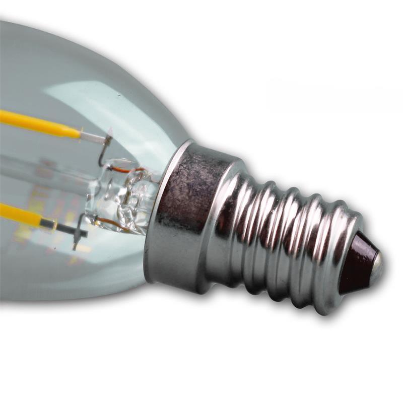 LED-Leuchtmittel-Filament-warmweiss-Gluehbirne-Gluehlampe-Birne-E-27-14-230V-Birne Indexbild 30