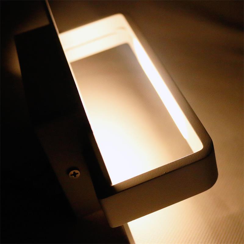 LED Appliques Murales Diff modèles blanc//argent murale éclairage flurlampe bougeoir