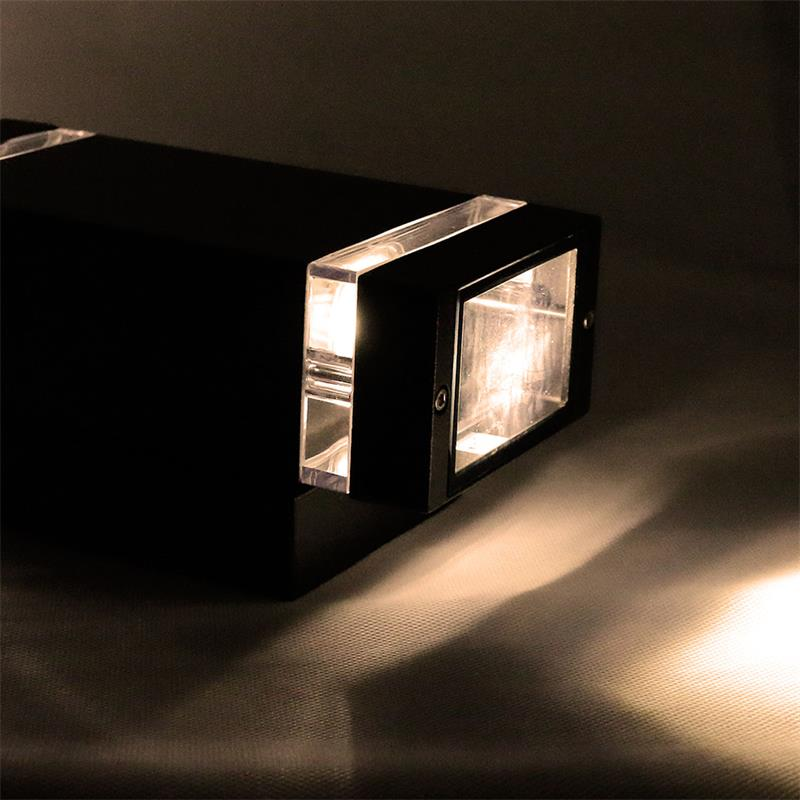 led au en wandleuchten wandlampen mit cob leds au enwandleuchte eingangsleuchte ebay. Black Bedroom Furniture Sets. Home Design Ideas