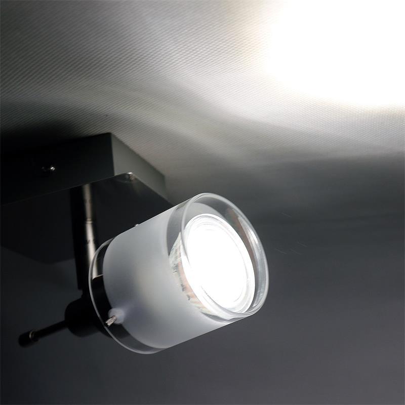 Cob led wohnzimmerleuchten gba aluminium glas for Wohnzimmerleuchten led