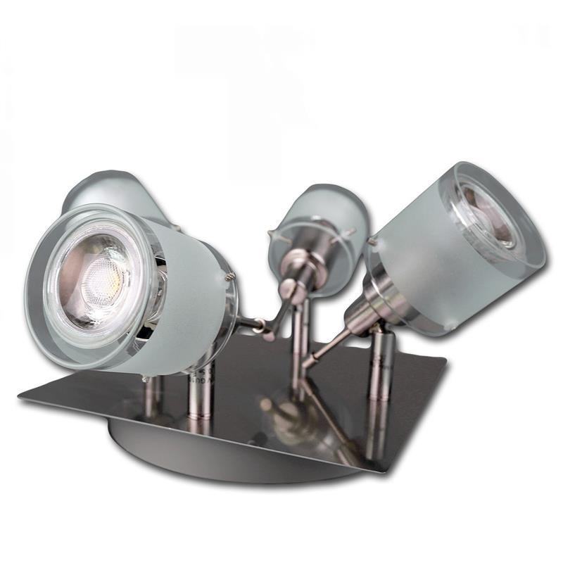 Cob led deckenleuchten gba aluminium glas for Wohnzimmerleuchte led