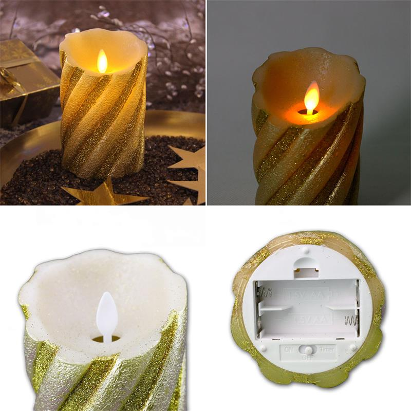 Flickering Candle Flamewax Led Candleled Electronic Candle Circuit