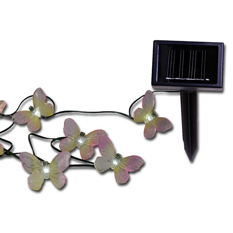 Solar lichterketten versch motive dekorative lichtkette for Gartendeko solar