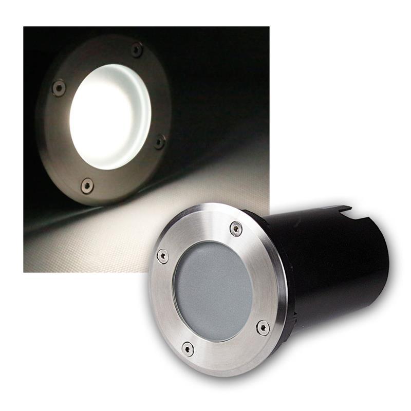 Suelo-LED-emisor-de-instalacion-lampara-de-suelo-acero-inoxidable-3-5-7w-suelo-emisor-230v-spots miniatura 14