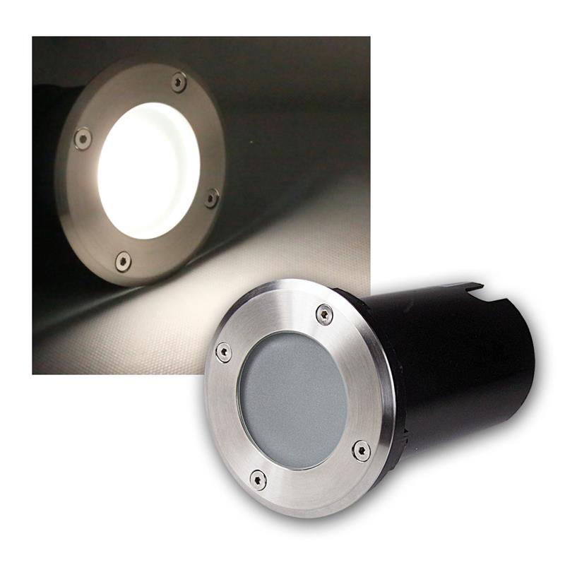 Suelo-LED-emisor-de-instalacion-lampara-de-suelo-acero-inoxidable-3-5-7w-suelo-emisor-230v-spots miniatura 26