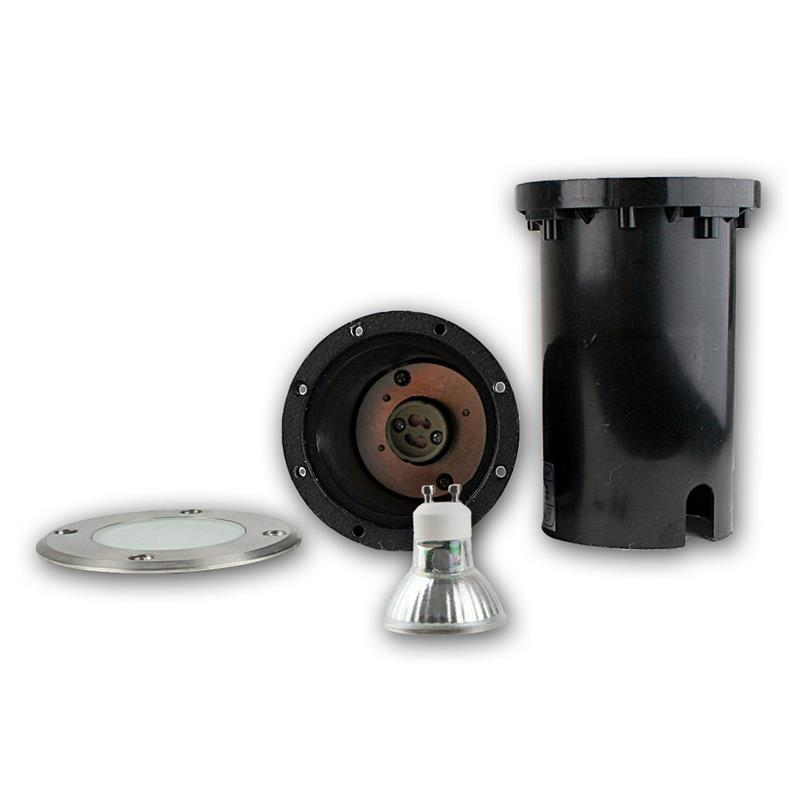 Suelo-LED-emisor-de-instalacion-lampara-de-suelo-acero-inoxidable-3-5-7w-suelo-emisor-230v-spots miniatura 9