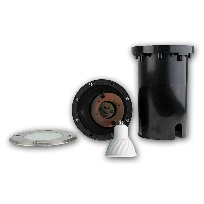 Suelo-LED-emisor-de-instalacion-lampara-de-suelo-acero-inoxidable-3-5-7w-suelo-emisor-230v-spots miniatura 33